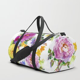 Gather Roses Duffle Bag