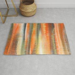 Orange Desert Rug