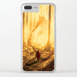 Let's wander in the forest... Clear iPhone Case