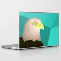 eagle Laptop & iPad Skins featuring Eagle by Nir P
