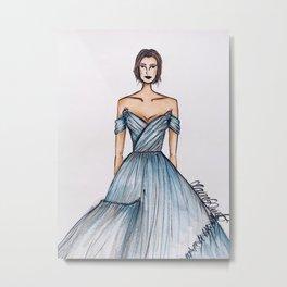 Cinderella (Zoomed) Metal Print