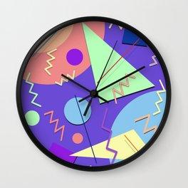 Memphis #7 Wall Clock