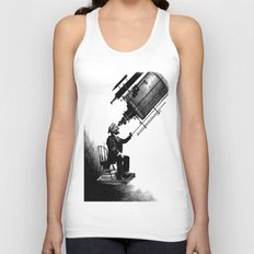 Who's Looking at Who? Unisex Tank Top
