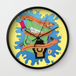 it's like i never left (brooklyn 99) Wall Clock