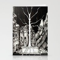 gondor Stationery Cards featuring The dark plague by Anca Chelaru