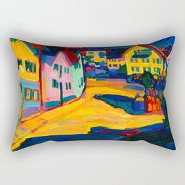 Wassily Kandinsky, New colors Rectangular Pillow
