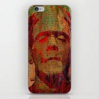 frankenstein iPhone & iPod Skins featuring frankenstein by Ganech joe