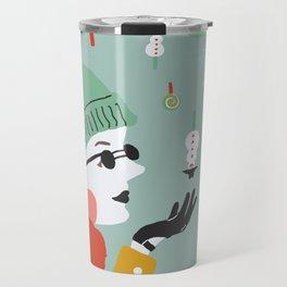 Bonbon de neige Travel Mug