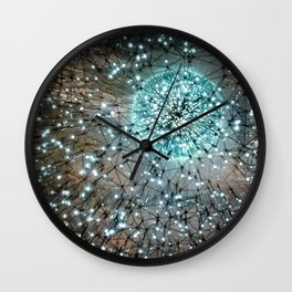 Lucent Galaxy Lights Wall Clock