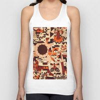mexican Tank Tops featuring Mexican drawings by lennyfdzz