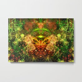Extraterrestrial Palace 4 Metal Print