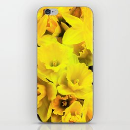 Smiley Daffodils iPhone Skin