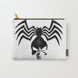 Black Spider Skull Carry-All Pouch