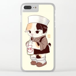 Japanese Bobtail Clear iPhone Case