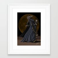sandman Framed Art Prints featuring Sandman by Sloe Illustrations