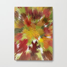 Color Blast Metal Print