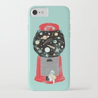 universe iPhone & iPod Cases featuring My childhood universe by I Love Doodle
