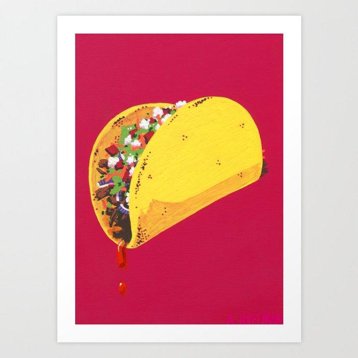 Let's Taco 'Bout It Art Print