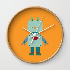 Robot Wall Clock