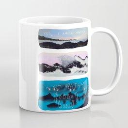 Monster Comic Coffee Mug