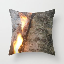 Swedish fire Throw Pillow