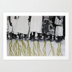 African Roots Art Print