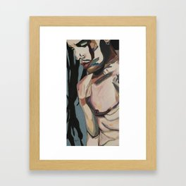 Stillness Of Heart Framed Art Print