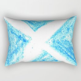 flag of scotland 7– scotland,scot,scottish,Glasgow,Edinburgh,Aberdeen,dundee,uk,cletic,celts,Gaelic Rectangular Pillow