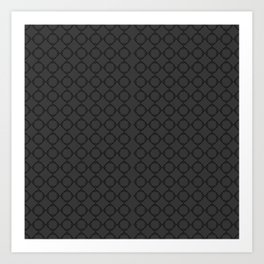pentagon pattern 1-1  Art Print