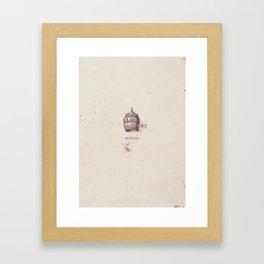 Borgia, tv series, minimalist poster, Isolda Dychauk, Mark Ryder, John Doman Framed Art Print