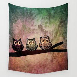 owl 187 Wall Tapestry