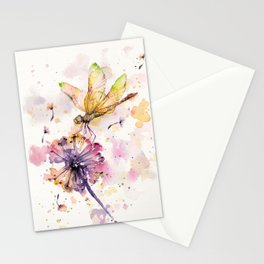 Dragonfly & Dandelion Dance Stationery Cards
