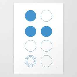 Zen Circle Art Print