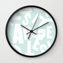 Los Angeles Routes (Pool) Wall Clock