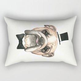 English Bulldog - livin' la vida bulldog Rectangular Pillow