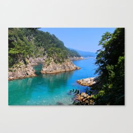 Carving Out Wonders Canvas Print