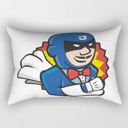 Super Hero Jenkins Rectangular Pillow