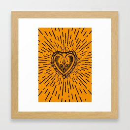 Birthing Love Framed Art Print