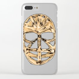 Dryden - Mask 1 Clear iPhone Case