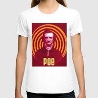 poe T-shirts featuring POE by Jon F. Allen