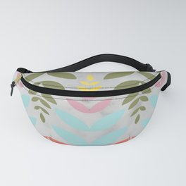 under the sea floral pattern Fanny Pack