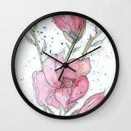 Magnolia #3 Wall Clock