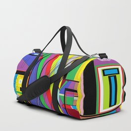 Geometry Abstract Duffle Bag