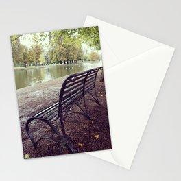 Riverside Iron Bench Stationery Cards