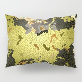 Abstract leaves mosaik Pillow Sham