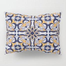Portuguese tile Pillow Sham
