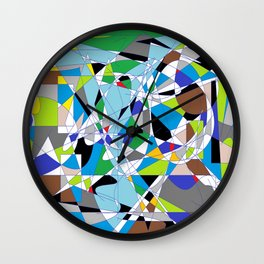 My World is Shattered Wall Clock