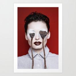 Lotus nervus Art Print