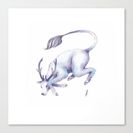 Eternal Deer Canvas Print