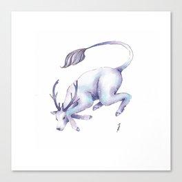 Eternal Deer Canvas Print